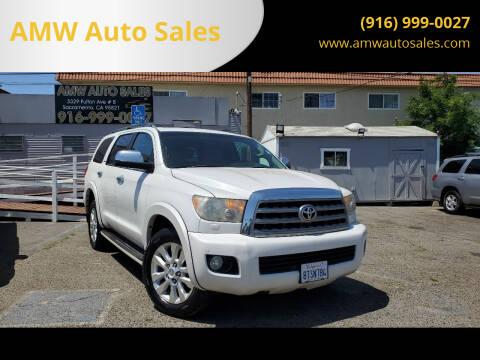 2008 Toyota Sequoia for sale at AMW Auto Sales in Sacramento CA