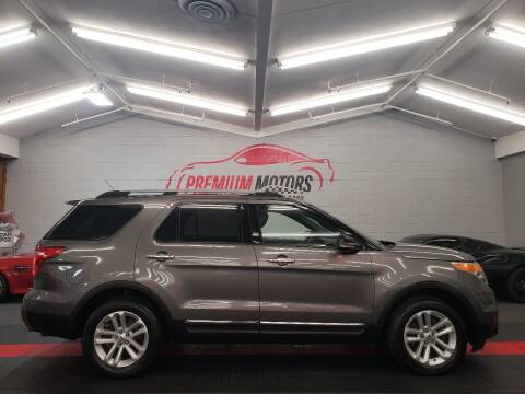 2012 Ford Explorer for sale at Premium Motors in Villa Park IL