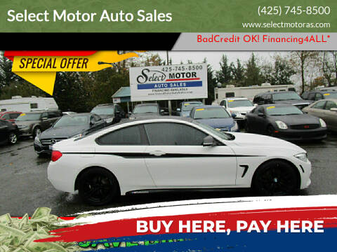 2014 BMW 4 Series for sale at Select Motor Auto Sales in Lynnwood WA