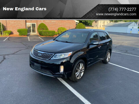 2014 Kia Sorento for sale at New England Cars in Attleboro MA