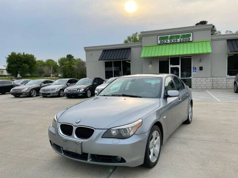 2007 BMW 5 Series for sale at Cross Motor Group in Rock Hill SC