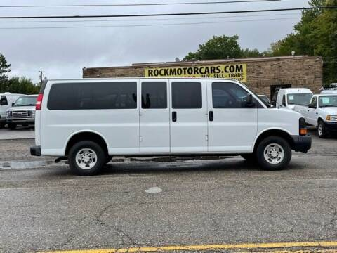 2007 Chevrolet Express Passenger for sale at ROCK MOTORCARS LLC in Boston Heights OH