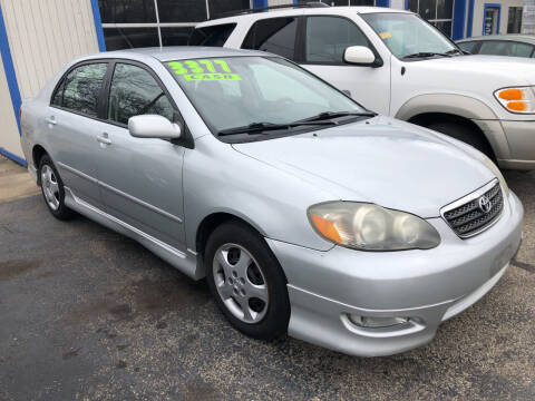 2006 Toyota Corolla for sale at Klein on Vine in Cincinnati OH
