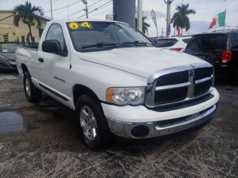 2004 Dodge Ram Pickup 1500 for sale at Brascar Auto Sales in Pompano Beach FL