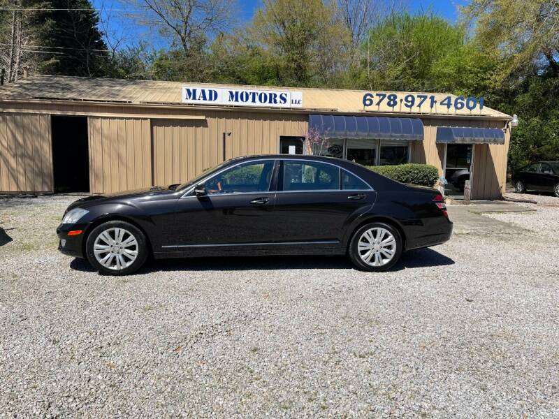 2009 Mercedes-Benz S-Class for sale at Mad Motors LLC in Gainesville GA