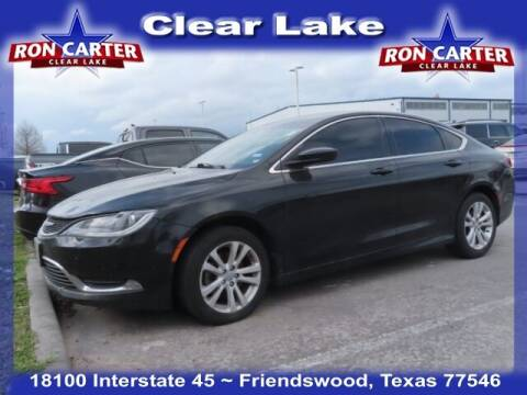 2016 Chrysler 200 for sale at Ron Carter  Clear Lake Used Cars in Houston TX