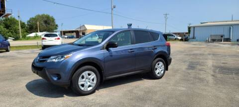 2013 Toyota RAV4 for sale at Aaron's Auto Sales in Poplar Bluff MO