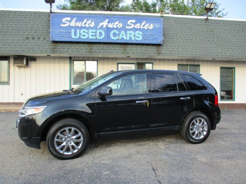 2011 Ford Edge for sale at SHULTS AUTO SALES INC. in Crystal Lake IL