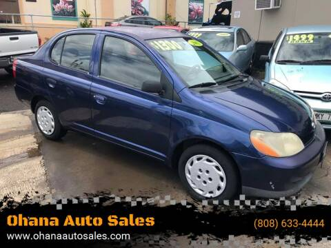 2001 Toyota ECHO for sale at Ohana Auto Sales in Wailuku HI