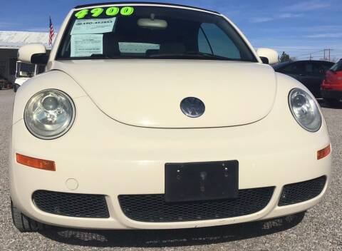 2006 Volkswagen New Beetle Convertible for sale at The Auto Shop in Alamogordo NM