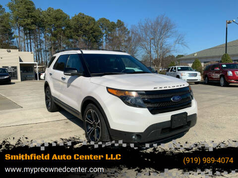 2014 Ford Explorer for sale at Smithfield Auto Center LLC in Smithfield NC