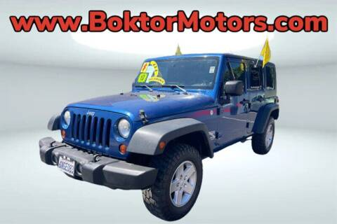 2010 Jeep Wrangler Unlimited for sale at Boktor Motors in North Hollywood CA