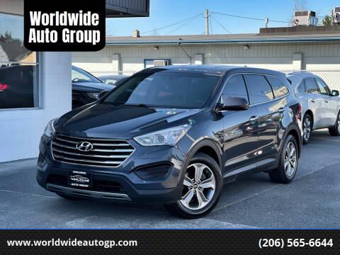 2013 Hyundai Santa Fe for sale at Worldwide Auto Group in Auburn WA