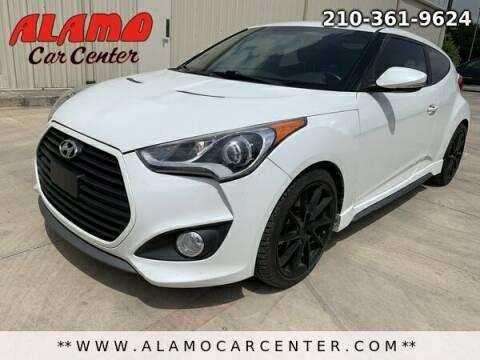 2014 Hyundai Veloster for sale at Alamo Car Center in San Antonio TX