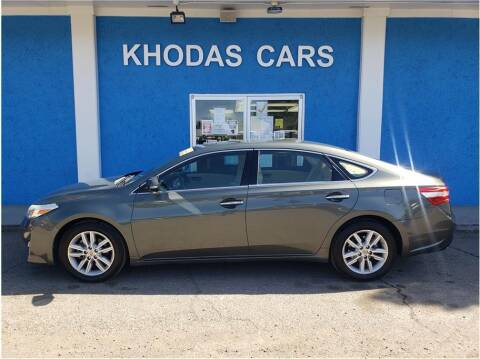 2013 Toyota Avalon for sale at Khodas Cars in Gilroy CA
