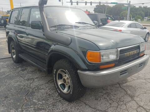 1994 Toyota Land Cruiser for sale at Autos by Tom in Largo FL