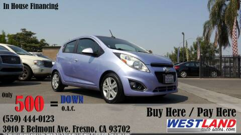 2014 Chevrolet Spark for sale at Westland Auto Sales in Fresno CA