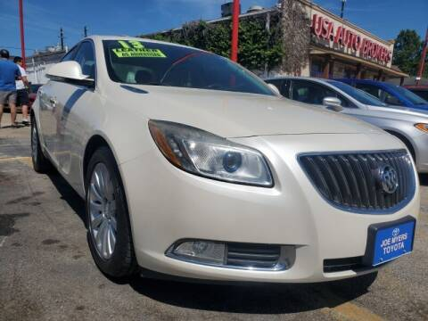 2013 Buick Regal for sale at USA Auto Brokers in Houston TX