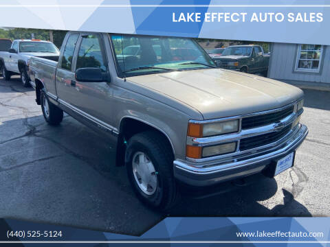 1999 Chevrolet C/K 1500 Series for sale at Lake Effect Auto Sales in Chardon OH