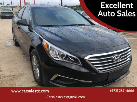 2016 Hyundai Sonata for sale at Excellent Auto Sales in Grand Prairie TX