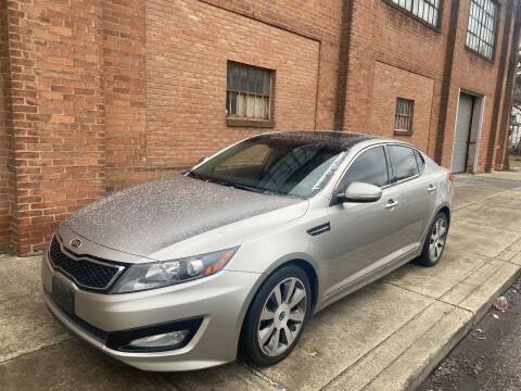 2012 Kia Optima for sale at Domestic Travels Auto Sales in Cleveland OH