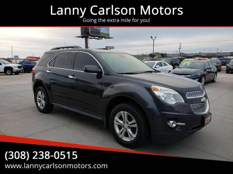 2013 Chevrolet Equinox for sale at Lanny Carlson Motors in Kearney NE