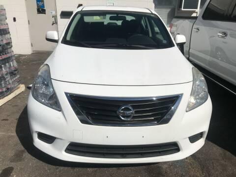 2012 Nissan Versa for sale at Suburban Auto Sales LLC in Madison Heights MI