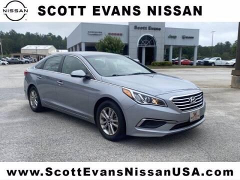 2016 Hyundai Sonata for sale at Scott Evans Nissan in Carrollton GA