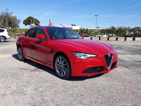 2021 Alfa Romeo Giulia for sale at GATOR'S IMPORT SUPERSTORE in Melbourne FL