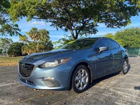 2014 Mazda MAZDA3 for sale at Lamberti Auto Collection in Plantation FL