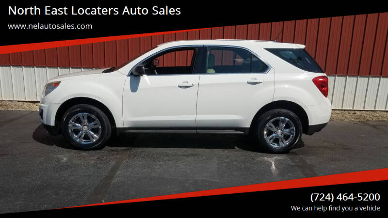 2014 Chevrolet Equinox for sale at North East Locaters Auto Sales in Indiana PA