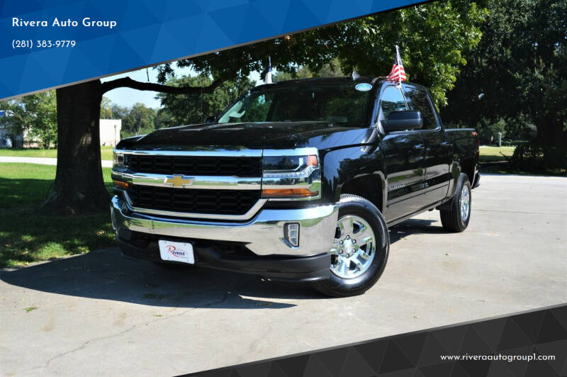 2018 Chevrolet Silverado 1500 for sale at Rivera Auto Group in Spring TX