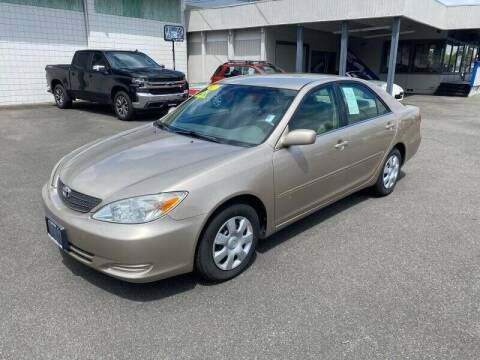2002 Toyota Camry for sale at TacomaAutoLoans.com in Lakewood WA