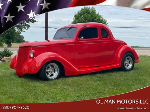 1936 Ford 5 Window Coupe for sale at Ol Man Motors LLC in Louisville OH