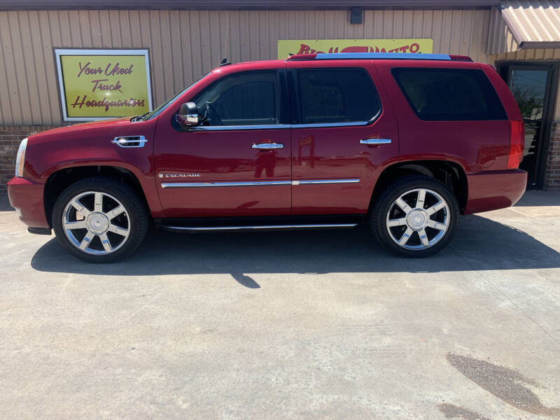 2007 Cadillac Escalade for sale at BIG 'S' AUTO & TRACTOR SALES in Blanchard OK