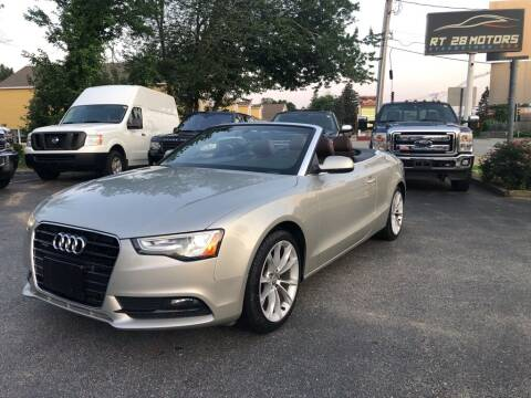 2013 Audi A5 for sale at RT28 Motors in North Reading MA