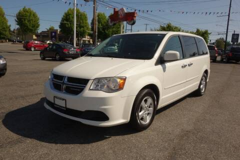 2013 Dodge Grand Caravan for sale at Leavitt Auto Sales and Used Car City in Everett WA