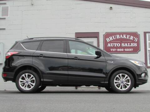 2018 Ford Escape for sale at Brubakers Auto Sales in Myerstown PA
