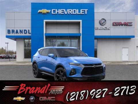 2021 Chevrolet Blazer for sale at Brandl GM in Aitkin MN