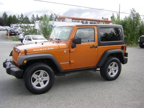 2011 Jeep Wrangler for sale at NORTHWEST AUTO SALES LLC in Anchorage AK
