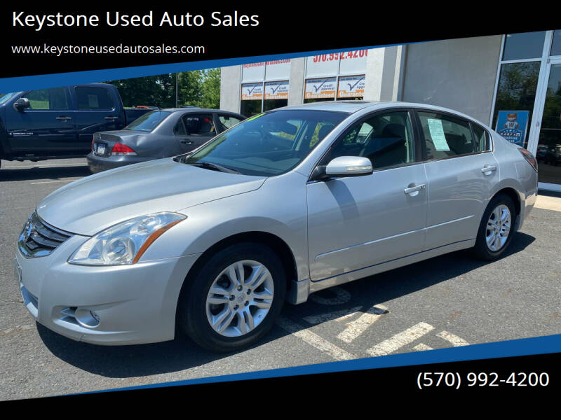 2010 Nissan Altima for sale at Keystone Used Auto Sales in Brodheadsville PA