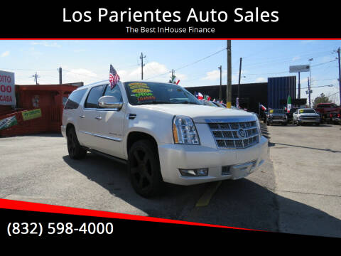 2012 Cadillac Escalade ESV for sale at Los Parientes Auto Sales in Houston TX