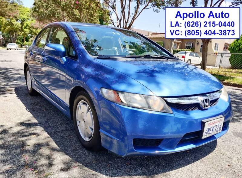 2010 Honda Civic for sale at Apollo Auto El Monte in El Monte CA