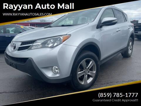 2015 Toyota RAV4 for sale at Rayyan Auto Mall in Lexington KY