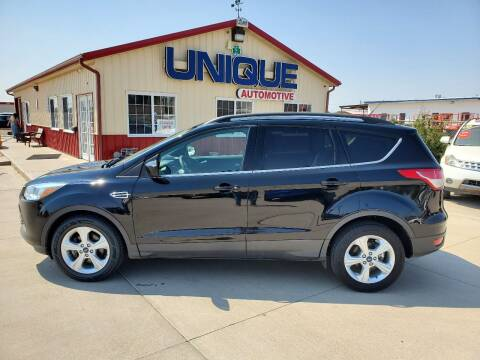 "2016 Ford Escape for sale at UNIQUE AUTOMOTIVE ""BE UNIQUE"" in Garden City KS"