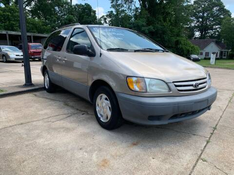 2002 Toyota Sienna for sale at C & P Autos, Inc. in Ruston LA