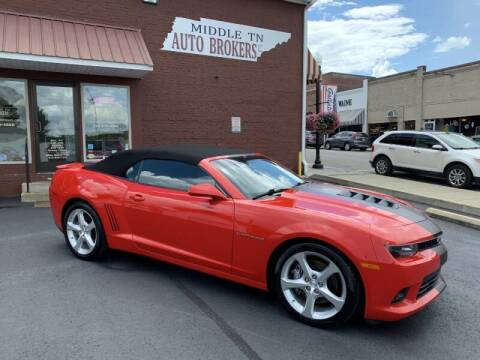 2015 Chevrolet Camaro for sale at Middle Tennessee Auto Brokers LLC in Gallatin TN