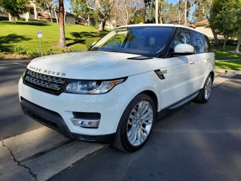 2016 Land Rover Range Rover Sport for sale at E MOTORCARS in Fullerton CA