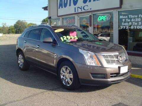 2012 Cadillac SRX for sale at G & L Auto Sales Inc in Roseville MI