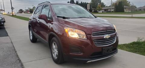 2016 Chevrolet Trax for sale at Wyss Auto in Oak Creek WI
